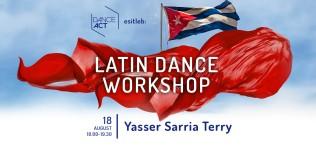 Latin Dance Workshop / Yasser Sarria Terry 18. august @ DanceAct