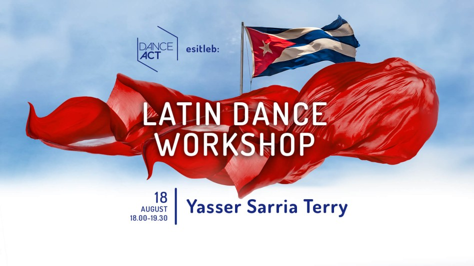 Latin Dance Workshop / Yasser Sarria Terry 18. august @ DanceAct